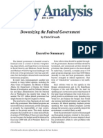 Downsizing the Federal Government, Cato Policy Analysis No. 515