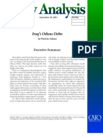 Iraq's Odious Debts Cato Policy Analysis No. 526