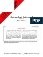 Hydrogen's Empty Environmental Promise Cato Briefing Paper No. 90