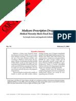 Medicare Prescription Drugs