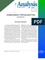 Avoiding Medicare's Pharmaceutical Trap, Cato Policy Analysis No. 556