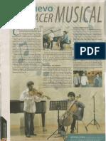 Solistas alfonsinos Conexiones 2013
