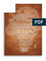 Private Education is Good for the Poor