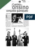 El sol de León - Solistas Alfonsinos conquistan Guanajuato