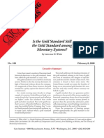 Is the Gold Standard Still the Gold Standard among Monetary Systems?, Cato Briefing Paper No. 100