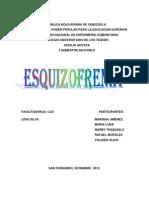 Caso Clinico Esquizofrenia