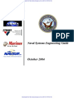 Naval Systems Engineering Guide Oct2004