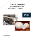 Manual on the Production of Traditional Mozzarella