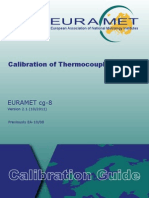 01 EURAMET Cg-8 v 2.1 Calibration of Thermocouples