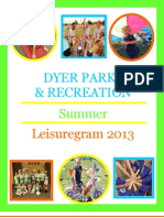 2013 Summer Leisuregram