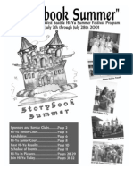 2001 Hi-Yu Summer Festival Souvenir Booklet