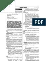 Ley N° 30007 - Reconocimiento de Derechos Sucesorios entre los miembros de uniones de hecho