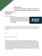 Conversation With Michael Albert [Part 2]