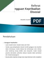 PPT Gangguan Disosial