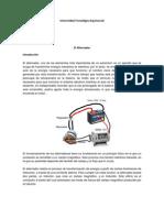 Informe Electricidad