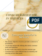 customer behaviour in services