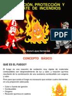 PREVENCIÓN, PROTECCIÓN Y COMBATE DE INCENDIOS