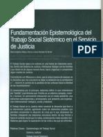 13.- fundamentación epistemologica del Trabajo Social