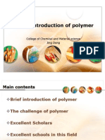 1.Polymeric Chemistry and Physics