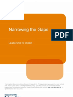 Narrowing the Gaps - Leadership for Impact 2010