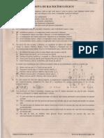 52645288 ANPAD 2011 FEV Racionio Logico e Quantitativo