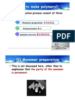 How to Make Polymers