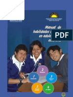 Manual de Habilidades Sociales en Adolescentes Escolares