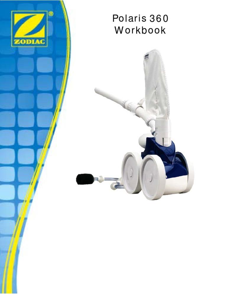 polaris 360 repair manual vacuum cleaner filtration rh scribd com Polaris 360 Assembly Polaris 360 Pressure Test