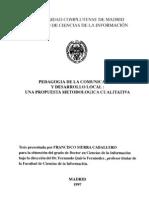 tesis accion participativa