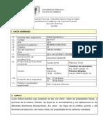 Silabo Fisicoquimica I 2013-Ver Corregido
