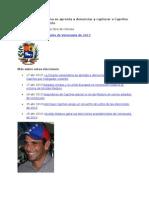 17-04-13 La fiscalía venezolana se apresta a denunciar y capturar a Capriles por instigador violento
