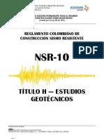 Titulo K NSR 10