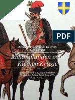 1752 de La Croix, Abhandlungen Vom Kleinen Kriege