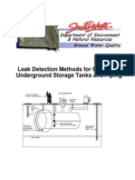 Underground Leak Detection Methods