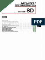 010[Manual] Nissan Tsuru 91-96 - Serie B13 Motor E16S (Carburado) - Eje Delantero y Suspension Delantera