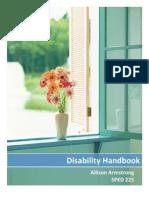 disability handbook sped