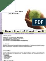 Griha Criteria No.32 energy audit and validation