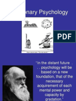 Evolutionary Psychology powerpoint