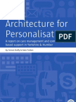 Architecture for Personalisation