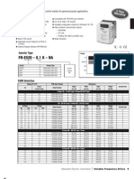 E500 Variable Frequency Drives-2