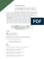 Estructura de Dato de Tipo Conjuntos