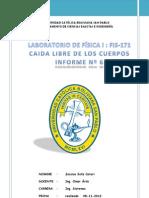 Informe Nº 6 CAIDA LIBRE DE LOS CUERPOS