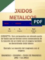 OXIDOS             METALICOS