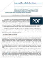Antropología pedagógica y pluriculturalismo-Juliano