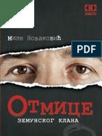 132655123 Otmice Zemunskog Klana Mile Novakovic
