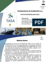 PPT Plan de Responsabilidad Social TASA