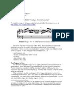 Bach Fuga 10 Analisis