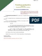 Lei 12.736-2012 [Altera Decreto 3.689-1941-CPC-Detração]