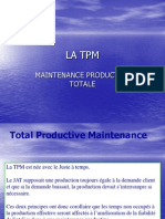 La Total Productive Maintenance (TPM)