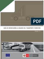 Guia de Orientacion Al Usuario en El Transporte Terrestre
